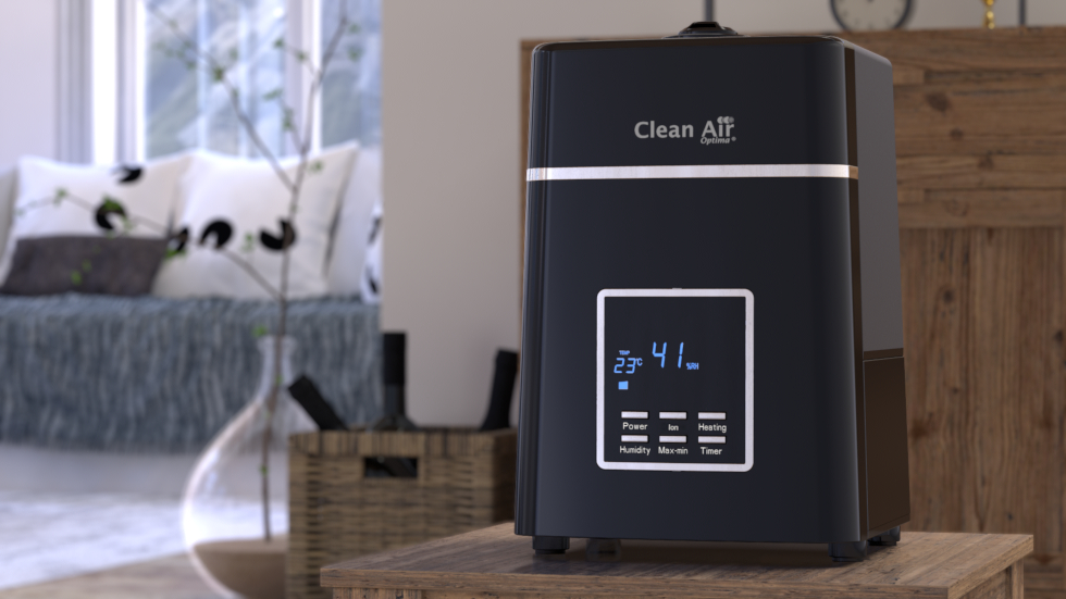 Clean Air Optima humidifier with ionizer CA-604B