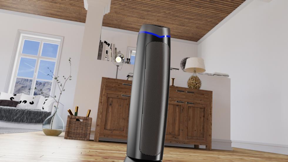 HEPA UV ionizer air purifier Clean Air Optima CA-508