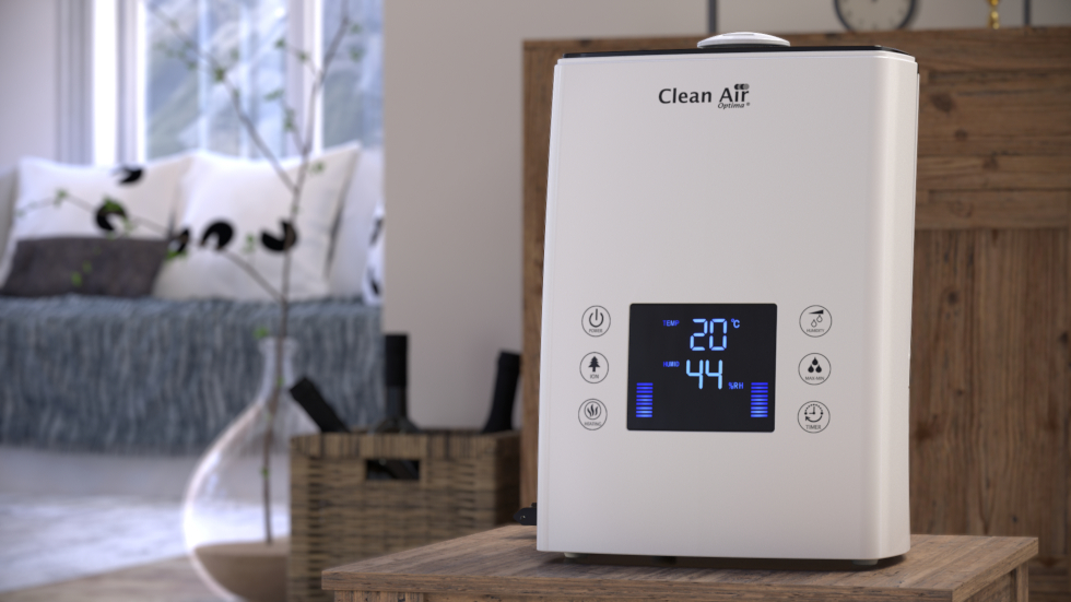 Air humidifier with ionizer Clean Air Optima CA-606